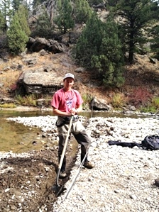 Yellowstone Cutthroat Trout PIT tagging and telemetry study 2012